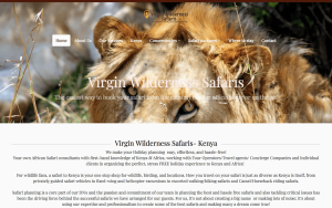 Virgin Wilderness Safaris